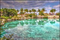 Playa Chankanaab, Riviera Maya. México