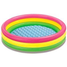 "Intex Kiddie Pool - Kid's Summer Sunset Glow Design - 58"" x 13"" #INTEX"