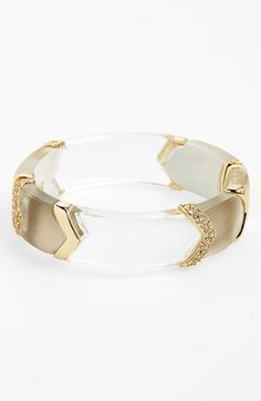 Alexis Bittar 'Lucite®' Chevron Hinged Bangle available at #Nordstrom