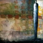 """Jeanne Bessette """"There Was a Time"""" 60 x 72"""