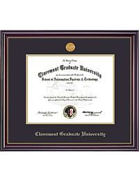 FRAMING SUCCESS : Claremont Graduate University Diploma Frame PhD Windsor : The Huntley Bookstore of the Claremont Colleges