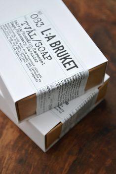 L:A Bruket Soap Bars
