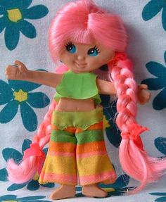 Free Shipping Retro Flatsy BONNIE Beach Doll 1969 from Ideal Vintage - the REAL Thing - Original Outfit - 1969 Ultra RARE. $28.00, via Etsy.