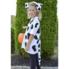 Kid Costumes - Halloween Costumes for Kids - Dalmation Dog Outfit - DIY Halloween Constume