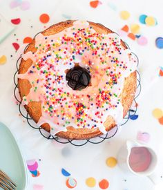 A Donut Cake Recipe. Yes, donut cake. Oof.