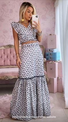 Maxi Outfits, Chic Outfits, Pretty Outfits, Big Girl Fashion, Look Fashion, Bali Fashion, Looks Chic, Little White Dresses, Clothing Hacks