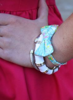 Oh So Bow bracelet!