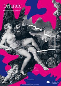 Plakatkampagne der Semperoper Dresden / Fons Hickmann m23