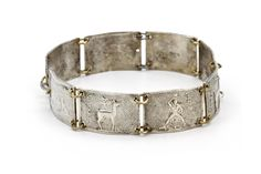 Greek Islands Bracelet, Antique 1920s Jewelry, 1000 Silver Bracelet, Pontikonissi Corfu Islet, Rhodes Island Bracelet, Colossus of Rhodes, Fallow Deer, Vintage Greek Jewelry, Nautical Silver Bracelet, Pure Fine Sterling Silver, Antique European Souvenir, Mediterranean bracelet, Edwardian Period Jewelry, Edwardian Womens Jewelry, Early Art Deco Jewelry, Stamped Bass Relief Jewelry, Greek History and Art, Old Antique Greece Bracelet, Old European Jewelry, Mediterranean Ethnic JewelryArt, Greek…