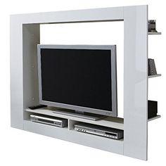 Porta tv moderno Jole 23, mobile per tv bianco, soggiorno di ...