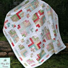 Stepping Stone Quilt - Jelly Roll   Craftsy