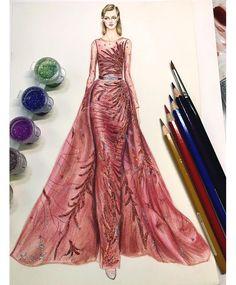 57 個讚,1 則留言 - Instagram 上的 瓶子(@icey.wy):「 #artwork #drawing #artislife #art #illustration #fashionillustration #watercolor@ziadnakad 」