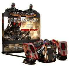 Super Deluxe Terminator Salvation Arcade Game Gun Game is refurbished with 90 day warranty and was Based on the Hit Movie Terminator! Terminator Salvation for your game room. Arcade Games For Sale, Minecraft Bedroom Decor, Toddler Videos, Creature Picture, Arcade Room, House Games, Hits Movie, Shooting Games, Cool Items