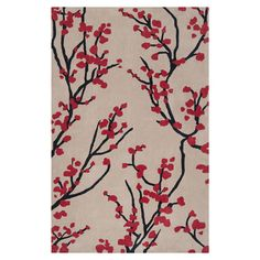 Found it at Wayfair - Hudson Park Rug in Red Strawberry