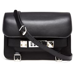 PROENZA SCHOULER PS11 Classic Leather Shoulder Bag (£1,365) ❤ liked on Polyvore