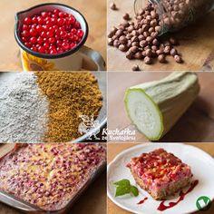 Kuchařka ze Svatojánu: RYBÍZOVÝ KOLÁČ S CUKETOU Healthy Baking, Cantaloupe, Fruit, Food, Eten, Meals, Diet