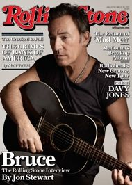I don't read newspapers, but I religiously read Rolling Stone Magazine cover-to-cover to keep a pulse on the music and artists.  The social stories and political stories aren't bad either.