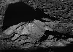 NASAs Lunar Reconnaissance Orbiter captured a dramatic sunrise view of Tycho crater. Tycho craters central peak complex, shown here, is about 9.3 miles (15 km) wide, left to right (southeast to northwest in this view). Tycho is one of the most prominent craters on the moon. It appears as a bright spot in the southern highlands with rays of bright material that stretch across much of the nearside.