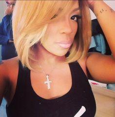 K Michelle Red Hair Bob ... Michelle on Pinterest | K Michelle, K Michelle Hair and Hip hop