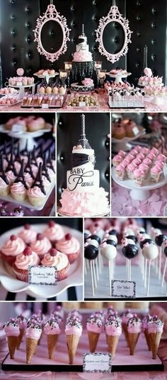 I love everything about this! How sweetly & perefctly pink & elegant! Not your typical 1st birthday