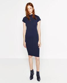 SLIM FIT DRESS-DRESSES-WOMAN | ZARA United States