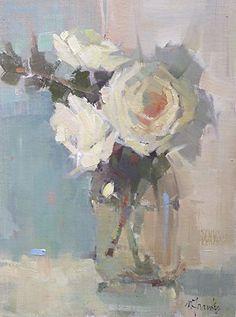 Nancy Franke | Softly. Oil ~ 16 x 12