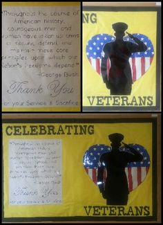 November 2013- Veteran's day bulletin board