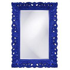 Barcelona Mirror Royal Blue -  Buy at SeasideBeachDecor.com
