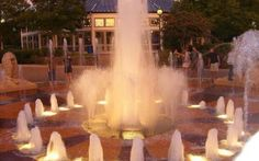 Coolidge Park is one of the most popular parks in town. Green spaces, an awesome fountain, the carousel -- there are lots of reasons everyone loves Coolidge.