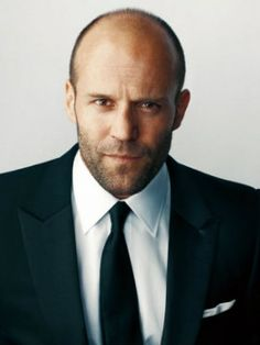 Jason Statham--he cleans up nice...