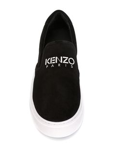 Kenzo Logo Slip-on Sneakers - Nugnes 1920 - Farfetch.com