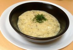 Fokhagymás-tejes tökfőzelék Cheeseburger Chowder, Mashed Potatoes, Main Dishes, Recipies, Ethnic Recipes, Food, Soups, Whipped Potatoes, Main Courses