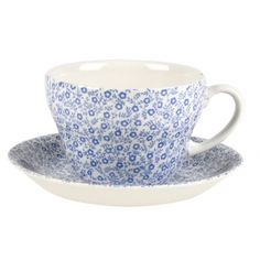 Tableware Blue Felicity Pale Blue Felicity Breakfast Cup 420ml 3/4pt from Burleigh. Buy Online from official store at discount prices.