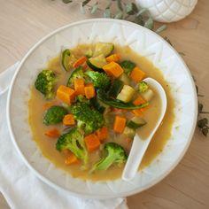 Simple Creamy Vegetable Soup + My Alaska Earthquake Story — Produce On Parade Whole Foods Vegan, Whole Food Recipes, Veg Recipes, Summer Recipes, Vegetarian Recipes, Dinner Recipes, Spiced Cauliflower, Cauliflower Casserole, Salads