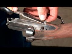 Gunsmithing - Fixing a Cracked Buttstock and Forend on a Remington Model 11 Shotgun - YouTube