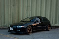Simple Black #CIVIC #HONDA