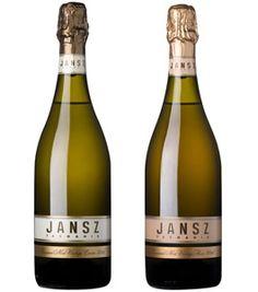 Jansz Estate Premium NV Cuvee (left) from Tasmania...mmm