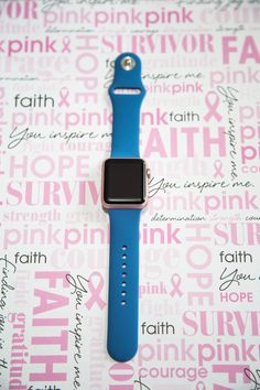 Best Blue Silicon Strap Apple Watch Band, All Apple Watch Straps available at SpartanWatches.com - Top Apple Watch Bands Store #WatchBands