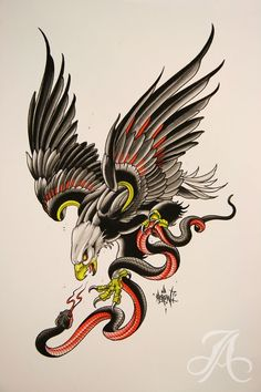 Super Tattoo Old School Eagle American Traditional Ideas Tattoos 3d, Tattoos Mandala, Trendy Tattoos, Animal Tattoos, Body Art Tattoos, Sleeve Tattoos, Traditional Eagle Tattoo, Traditional Tattoo Design, Tattoo Sketches