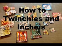 Inchies For Your Journals & More by Joggles.com - YouTube