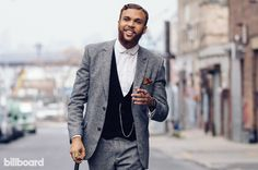 """Jidenna, the Brooklyn singer whose first LP on Janelle Monae's Wondaland Records arrives in 2016, was at his label's studio when he learned """"Classic Man,"""" his electro-R&B ode to vintage dress and suave masculinity, had received a Grammy nomination for best rap/sung collaboration."""