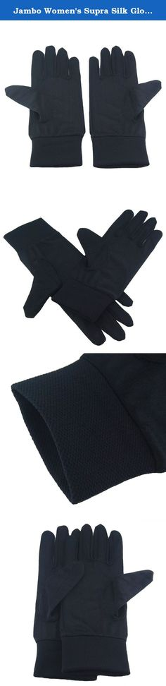Jambo Women's Supra Silk Glove Liners Black S. Specification: Condition: Brand new Package includes: One piece of Real Silk Glove Color: Black Material: High quality Silk with Nylon Hand Wash: The preferred method is hand laundered in cool water with pH neutral soap using a gentle hand movement. Do not soak too long. Rinse in cool water and roll silk in a towel to remove excess water. Never wring water from silk. Hand washing is much easier and in fact faster. Machine Wash: Wash in cold...