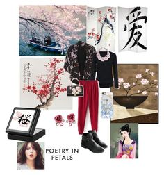 """""""Cherry blossom outfit"""" by thefrugal-fashionista on Polyvore featuring Dorothy Perkins, Betsey Johnson, NOVICA and Casetify"""