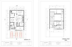 Vertical Barcode House,layout plan