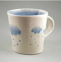 Light Blue Rain Cloud Mug