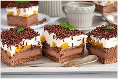 Ciasto szpinakowe pole z truskawkami - I Love Bake Tiramisu, Red Velvet, Cheesecake, Sweets, My Love, Ethnic Recipes, Food, Kitchen, Bakken