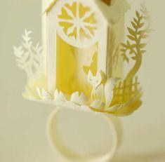 Elsa Mora, paper cutting genius