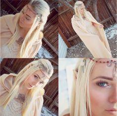 Cosplay Elf makeup