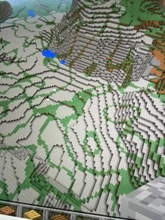Cool minecraft landscape❤️  the pe seed is 64951768