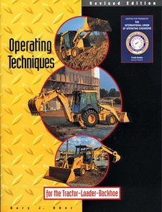 An amazing general knowledge book for the tractor, loader, backhoe operator.  Recommended study material for Rhode Island excavator license.